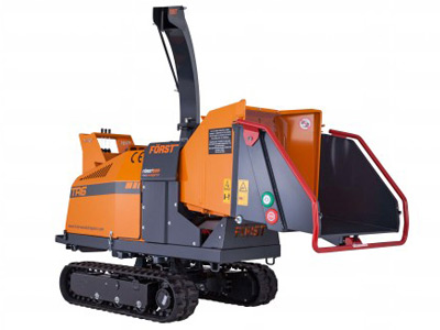 Först TR6 Tracked Wood Chipper