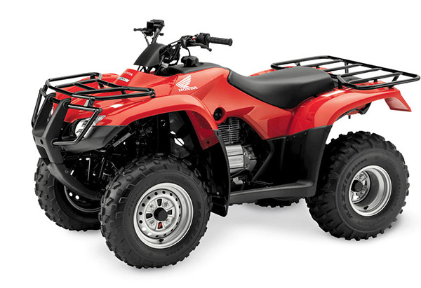 Honda Quad Bike with trailer